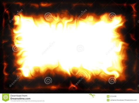 flame border royalty  stock  image