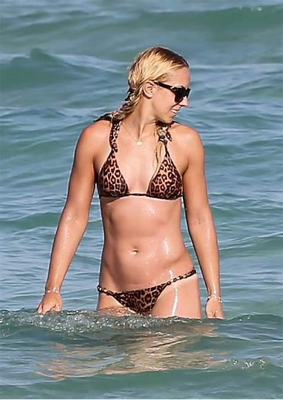 Sabine Lisicki Bikini Miami Wearing Ancensored Celebrity