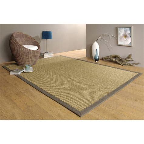 canapé jonc de mer tapis taupe jonc de mer 4x4 l 140 x l 195 cm leroy merlin