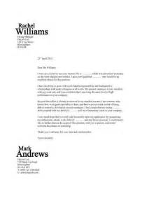 Template Cover Letter Examples