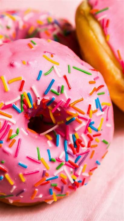 Doughnut Wallpapers Mobile Background Sweets Wallpapertag