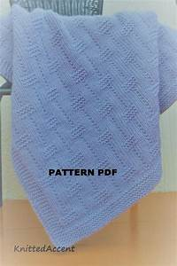Easy Blanket Pattern  Instructions Written With Diagram