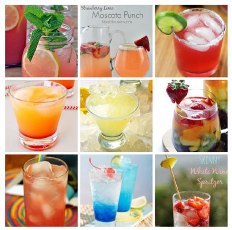 simple summer drink recipes 9 easy summer cocktail recipes stylish life for moms