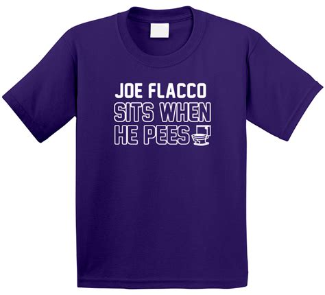 Joe Flacco Sits When He Pees Baltimore Football Player ...