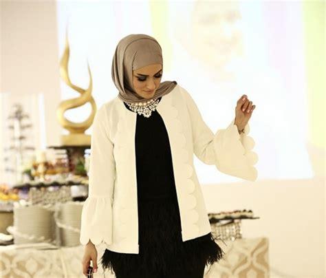 paduan blazer cantik hijaber kuwait dreamcoid