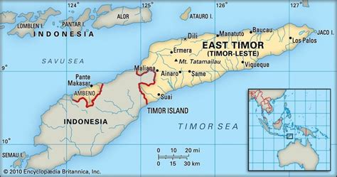 map  timor leste source wwwtheasianasia