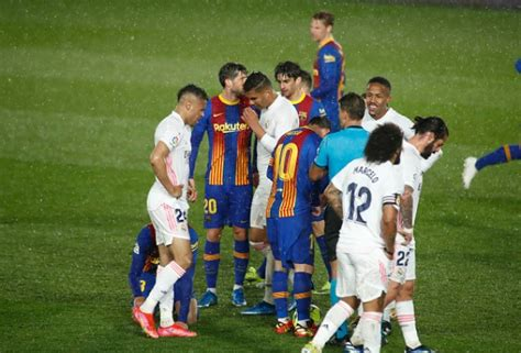 Real Madrid vs FC Barcelona: What Angry Lionel Messi Told ...