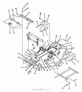 Snapper Z4804m 48 U0026quot  Deck  Mid Mount Ztr Series 4 Parts