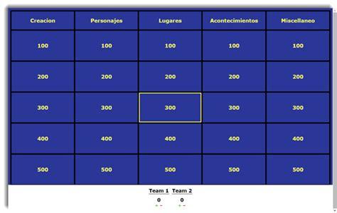 0 calificaciones0% encontró este documento útil (0 votos). Jeopardy Bíblico | Excelente Concurso Bíblico | Recursos ...