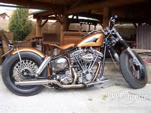 Custom Old School Bobber Motorcycles