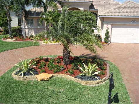 Landscape Backyard Design Ideas - florida landscape home design exterior
