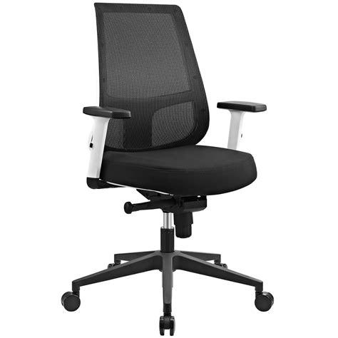 white office chair ergonomic ergonomic mesh back office chair w white frame
