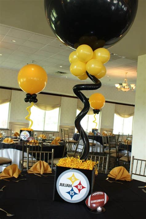 Pittsburgh Steelers Decor  Home Decorating Ideas. Gable Decoration. Hot Air Balloon Room Decor. Dining Room Table Centerpiece Ideas. Orange And Brown Kitchen Decor. How To Eliminate Odors In A Room. Tabletop Decorating Ideas. Vintage Decor. Home Security Safe Room