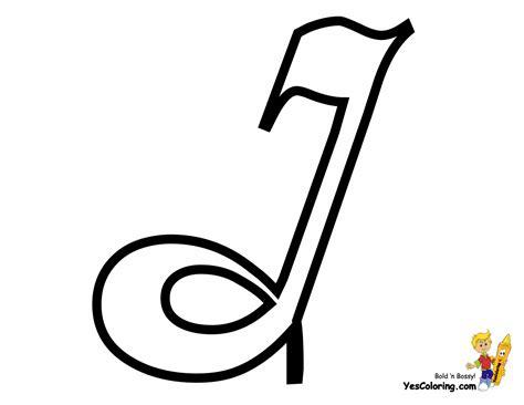 Elegant Cursive Letter Coloring Page