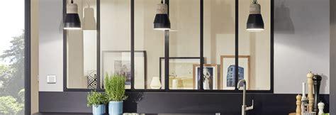 meuble pour separer cuisine salon fenêtre dans cloison placo