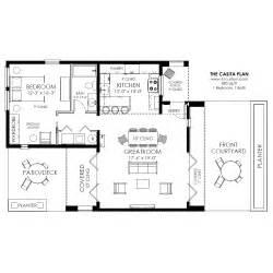 Contemporary Plan Contemporary Casita Plan Small Modern House Plan