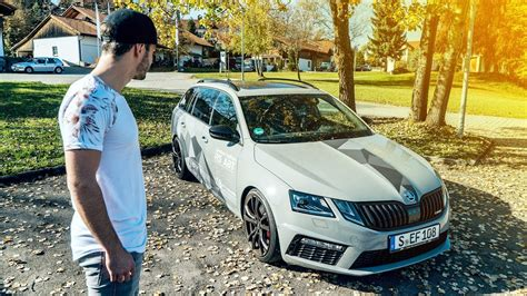 skoda octavia rs 245 tuning skoda octavia rs 315 ps 450nm daniel abt