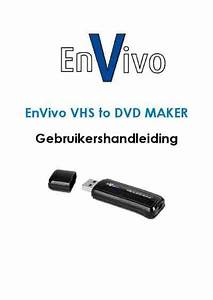Envivo Vhs To Dvd Maker Software Download Manual For Free