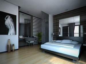 chambre adulte moderne idees de design et decoration With deco chambre adulte design