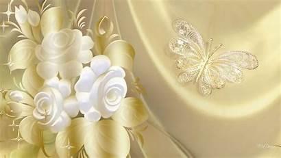Elegant Gold Butterfly Wallpapers Golden Elegance Background