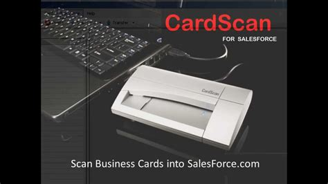 Scan Business Cards Into Salesforce Business Card Reader