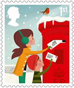 collect gb stamps With christmas letter stamp