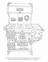 Coloring Stove Nye Today sketch template