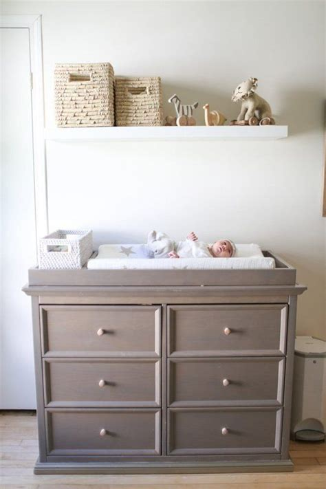 how to make a changing table how to make your dresser into a changing table