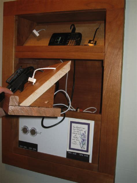 built  charging station finewoodworking