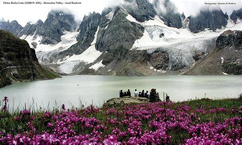 beautiful shounter valley azad kashmir pakistan