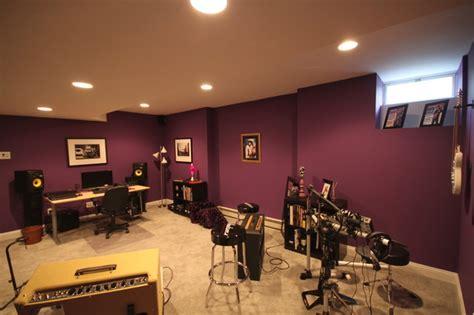 studio contemporary basement  york