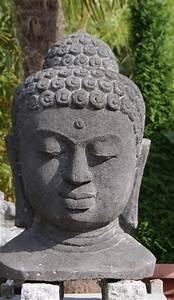 steinkunst aus bali und java steinfigurenshop With französischer balkon mit buddha kopf garten