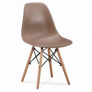 Chaise Scandinave Accoudoir : chaise scandinave amy couleur pastel ~ Teatrodelosmanantiales.com Idées de Décoration