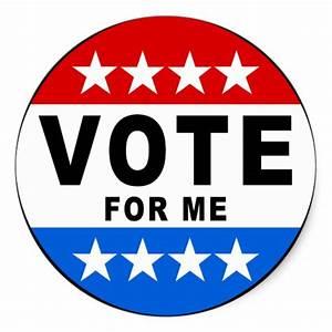 Vote For Me Sticker | Zazzle.com