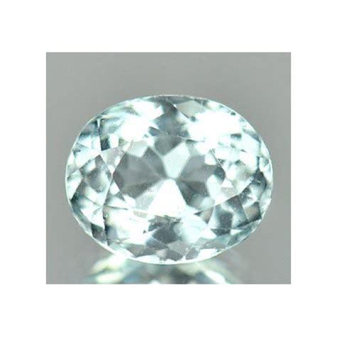 light blue gemstone 1 47 ct light blue aquamarine oval cut gemstone