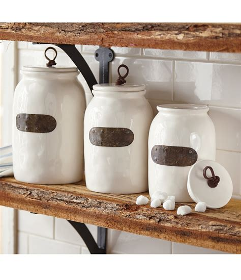 Permalink to Farmhouse Country Kitchen Canisters