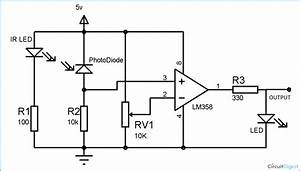 Ir Sensor Circuit Diagram