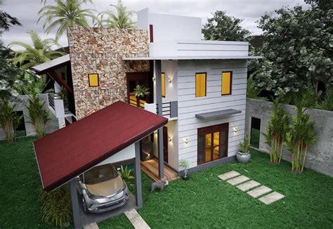 apultra modern duplex house plan archplanest