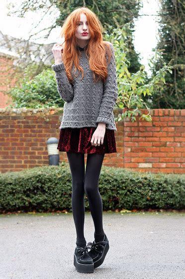 Velvet skirt on Tumblr
