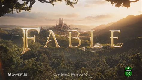 fable  officially  development  xbox series  vgc