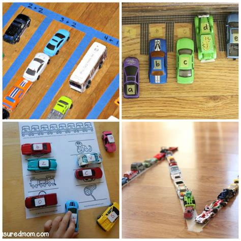 learning activities for who cars frugal 494 | Hot Wheels Learning Collage