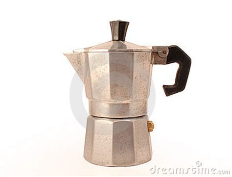 Italian Moka, The Original Kettle For Coffee Royalty Free Stock Images   Image: 10233099