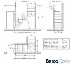 Calcul Escalier Quart Tournant : calcul escalier 1 4 tournant gauche ~ Dailycaller-alerts.com Idées de Décoration
