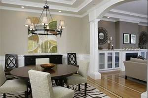 this arch between dining room and living room windows With living room dining room paint colors