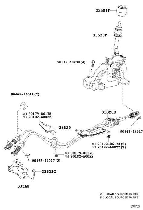 Toyota Corolla Boot Shift Lever Black Cvt Std