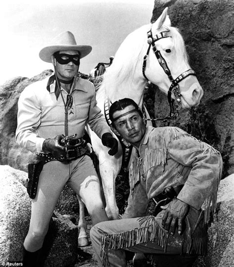 here s arnie hammer and johnny depp as lone ranger and tonto welcome to the