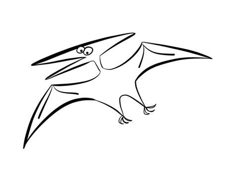 flying dinosaur pterodactyl template