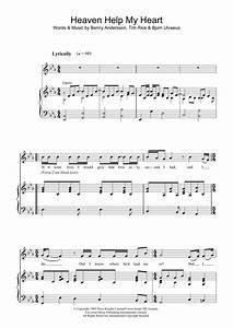 Heaven Help My Heart (from Chess) | Sheet Music Direct