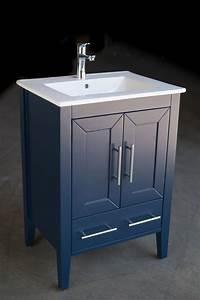 quartz 24 inch navy blue vanity ak trading home options
