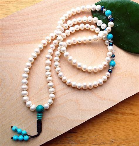 Freshwater Pearl Mala - Sakura Designs